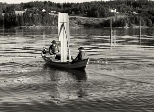 Spor i vann (Fotograf: Evgeny Kunnikoff)