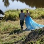 Brudeparet (Foto: Magdalena Mekin)